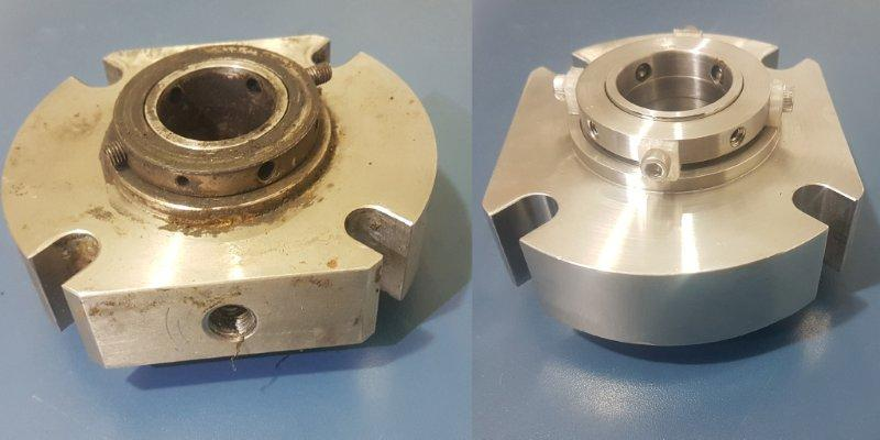 Recuperação de selo mecânico