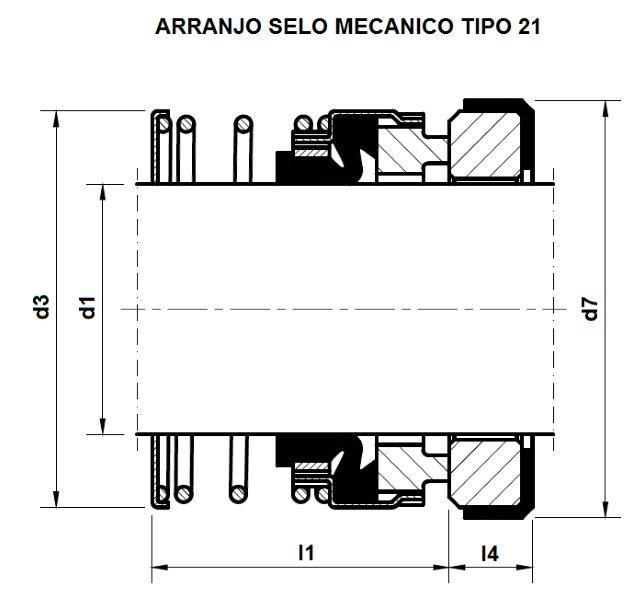 Selo mecânico 21